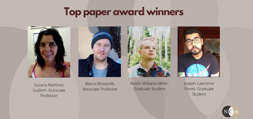 NCA 2021 top paper award winners