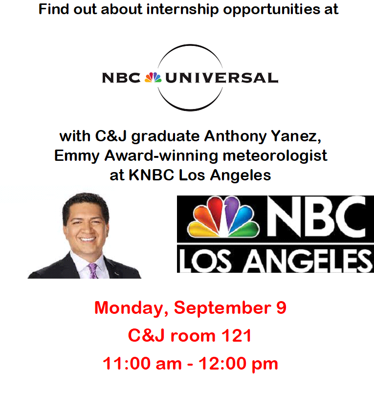 Photo: Internship Opportunities at NBC Universal